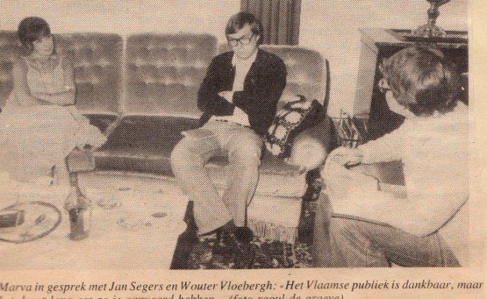 Veertig jaar geleden: interview metMarva…