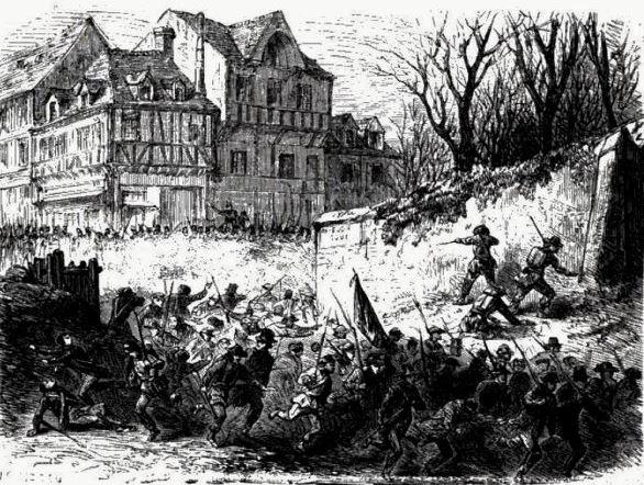 170 jaar geleden: de slag bijRisquons-Tout