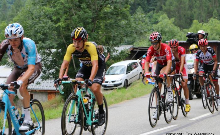 Primoz Roglic wint de Ronde van hetBaskenland