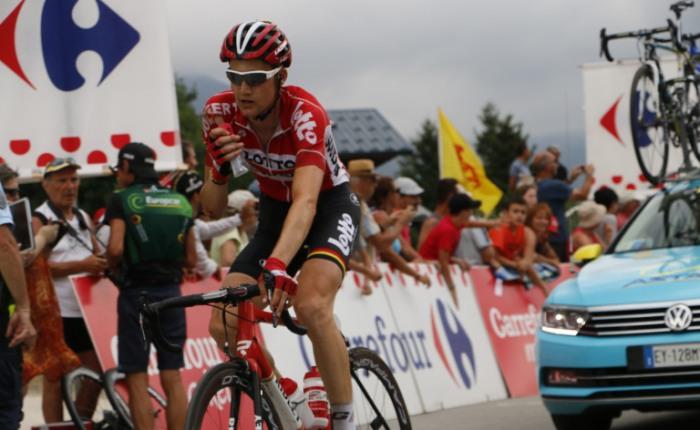 Tim Wellens wint tijdrit in Ronde vanBelgië