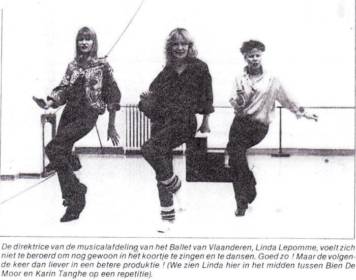 """35 jaar geleden: Linda Lepomme in """"Mijn show is klaar nu ga ik inpremière"""""""