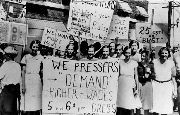 75 jaar geleden: de eersteVrouwendag