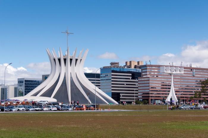 Brazilia, de nieuwe hoofdstad vanBrazilië