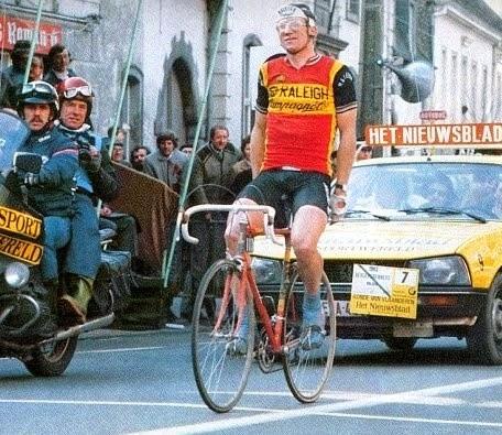 35 jaar geleden: Jan Raas wint zijn tweede Ronde vanVlaanderen