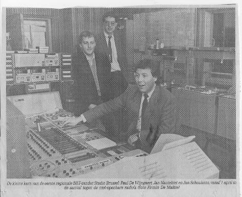 35 jaar geleden: start van StudioBrussel