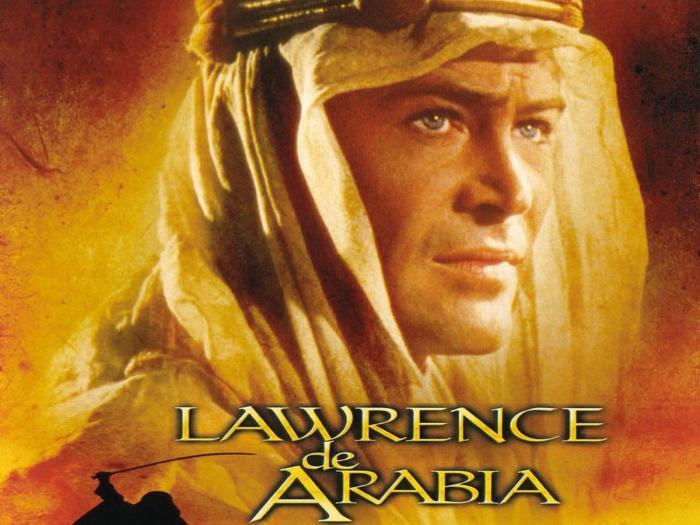 "55 jaar geleden ""Lawrence of Arabia""oscarwinnaar"