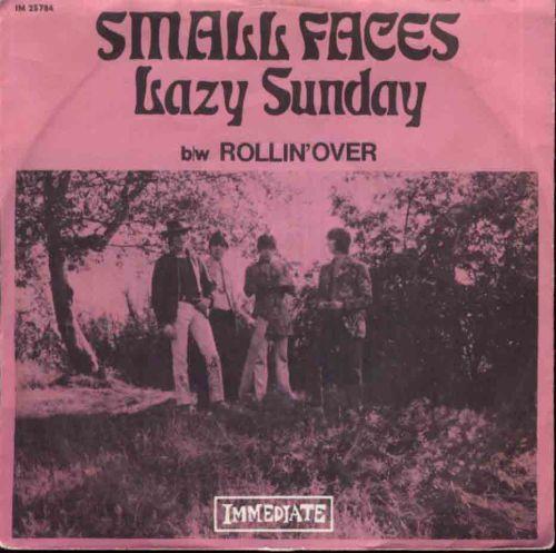 "Vijftig jaar geleden: ""Lazy Sunday"" (The SmallFaces)"