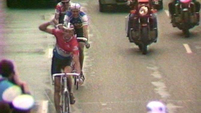 Dertig jaar geleden: Adri Van der Poel wint Luik-Bastenaken-Luik