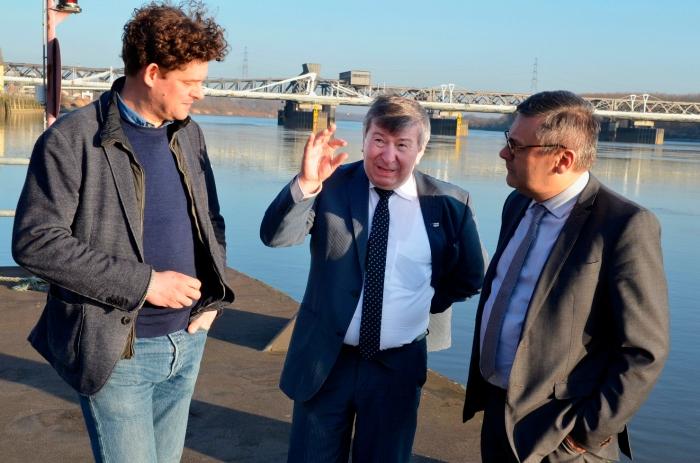 Rederij Aqualiner start haalbaarheidsstudie uitbreiding waterbus totTemse/Bornem
