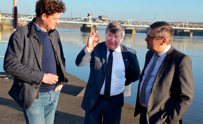 Temse, Bornem en Rivierpark Scheldevallei op pad voor dewaterbus
