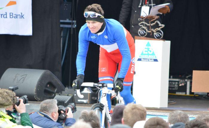 Arnaud Démare wint voor de vierde keer in deGiro