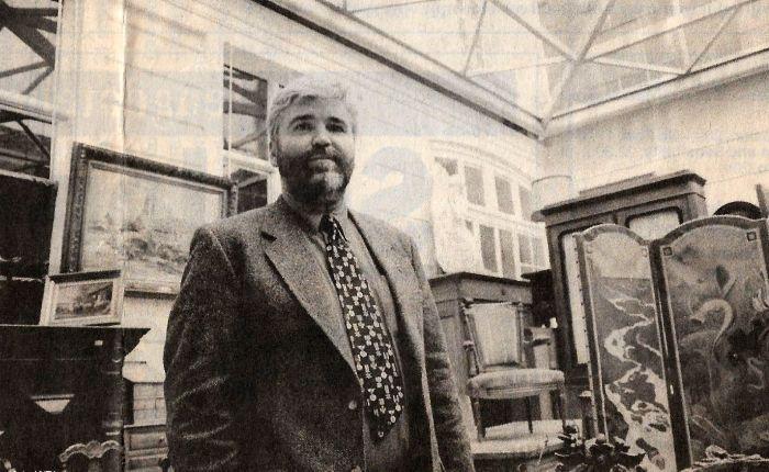 25 jaar geleden: hotel Van Goethem wordt eenveilinghuis
