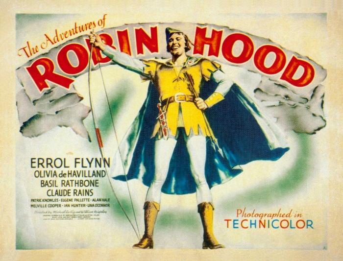 """Tachtig jaar geleden: première van """"The adventures of RobinHood"""""""
