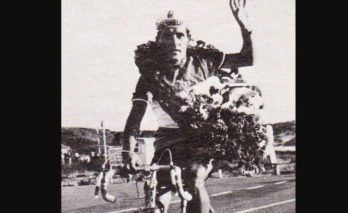 Zestig jaar geleden: Piet Damen wint deVredeskoers