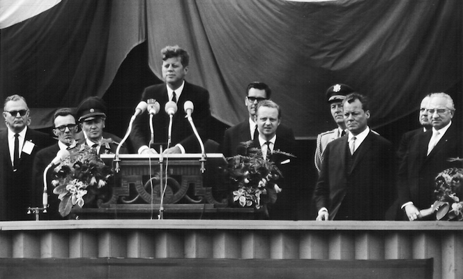 "55 jaar geleden: ""Ich bin einBerliner"""