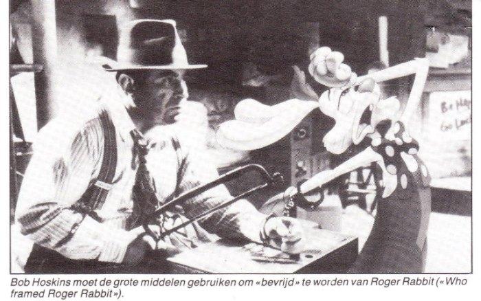 """Dertig jaar geleden: première van """"Who framed RogerRabbit?"""""""