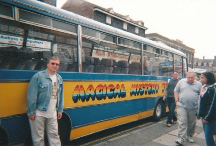 Vijftien jaar geleden: onze Magical MysteryTour