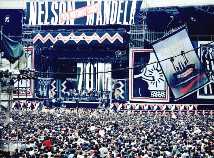 Dertig jaar geleden: Free NelsonMandela!