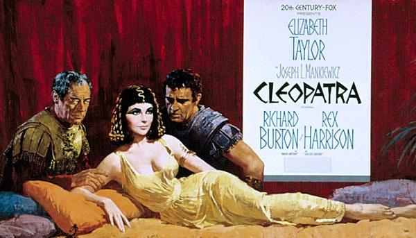 """55 jaar geleden ging """"Cleopatra"""" inpremière"""