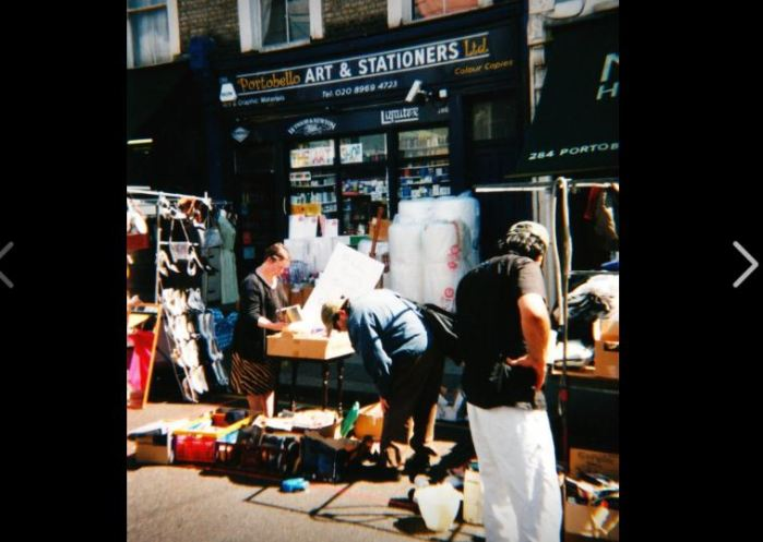 Vijftien jaar geleden: Portobello Road en NottingHill