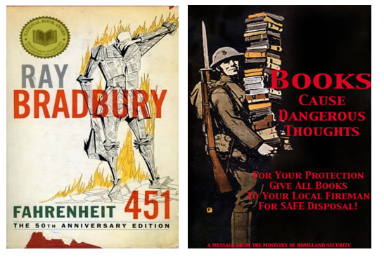 "65 jaar geleden: ""Don't join the book-burners"" (Eisenhower)"
