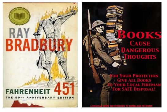 "65 jaar geleden: ""Don't join the book-burners"" (Eisenhower)"