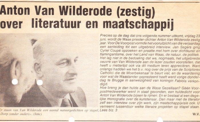 Anton van Wilderode(1918-1998)