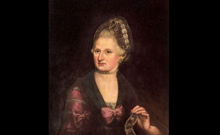Anna Maria Mozart(1720-1778)