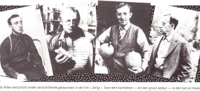 """35 jaar geleden: première van """"Zelig"""" (WoodyAllen)"""