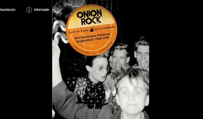 """""""Onion Rock"""", het boek over de Aalsterse jeugdcultuur wordtvoorgesteld"""