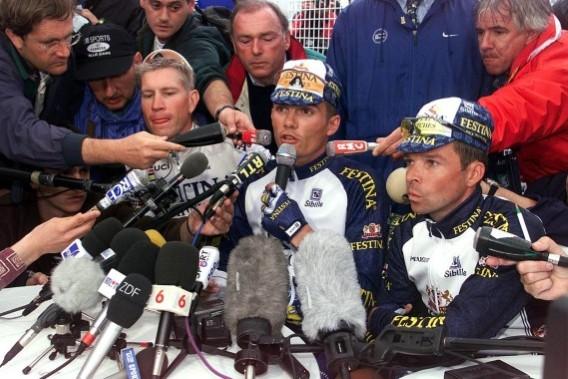 Twintig jaar geleden: Festina uit de Tourgezet