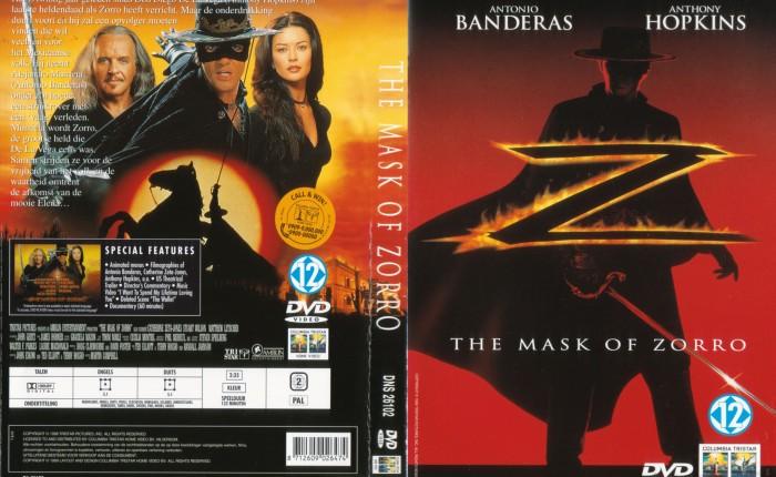 """Twintig jaar geleden: première van """"The Mask ofZorro"""""""