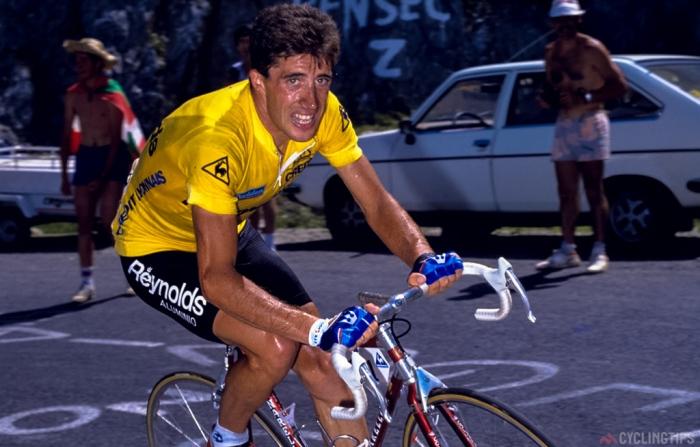Dertig jaar geleden: Pedro Delgado wint Tour ondanksprobenicide