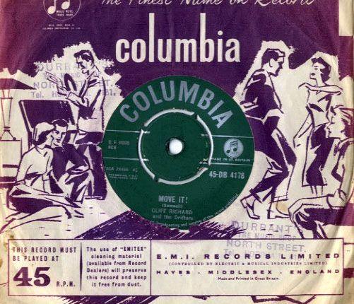 """Zestig jaar geleden: Cliff Richard neemt """"Move it""""op"""