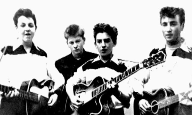 Zestig jaar geleden: George Harrison gaat bij The Quarrymenspelen