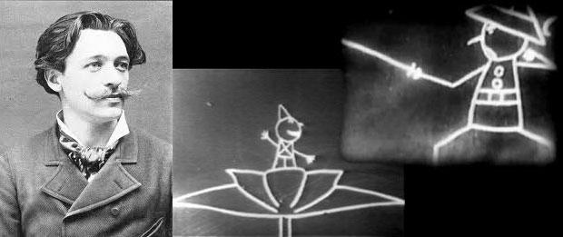 110 jaar geleden: de eersteanimatiefilm