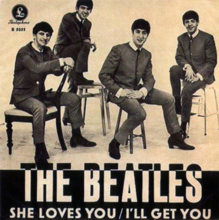 "55 jaar geleden: ""She loves you"""