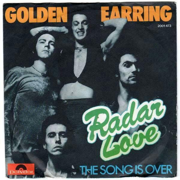"""45 jaar geleden: """"Radar love"""" komt de top 40binnen"""