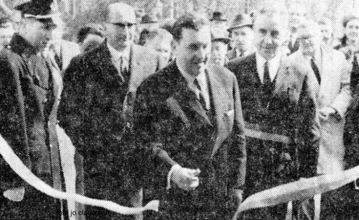 Vijftig jaar geleden: opening van het Scheldebad inTemse