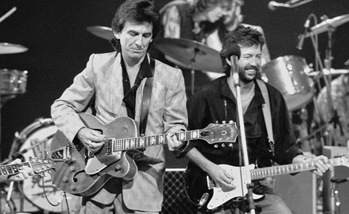 Vijftig jaar geleden: George Harrison en EricClapton