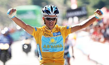 Tien jaar geleden: Alberto Contador bij de GroteVijf