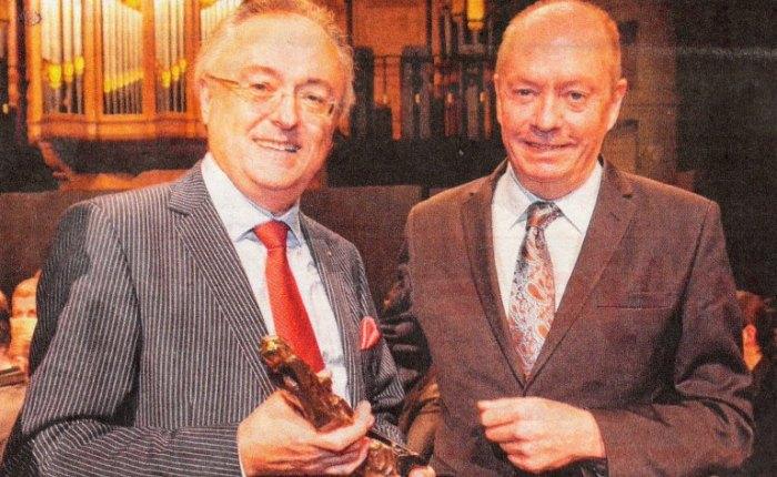 Vijf jaar geleden: Eddy Vanoosthuyse wint de Torenwachtersprijs