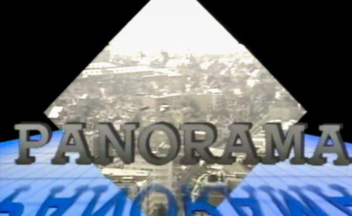 """65 jaar geleden: eerste uitzending van """"Panorama"""""""
