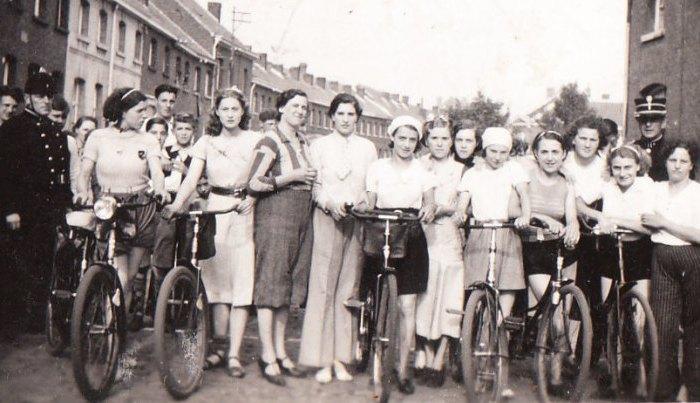 150 jaar geleden: de eerste wielerwedstrijd voorvrouwen