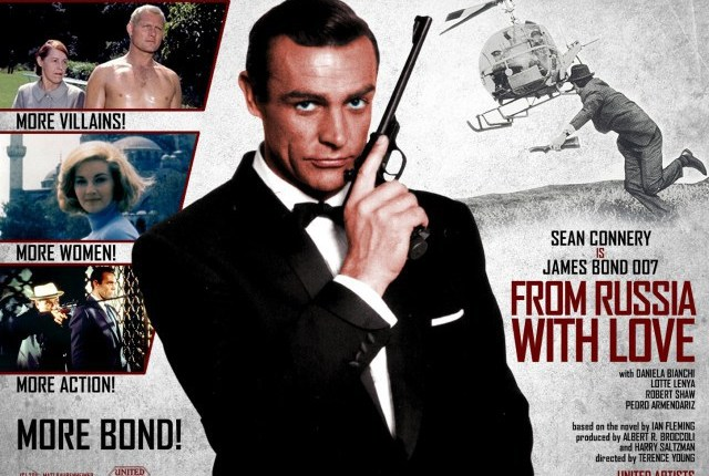 """55 jaar geleden: première van """"From Russia withlove"""""""