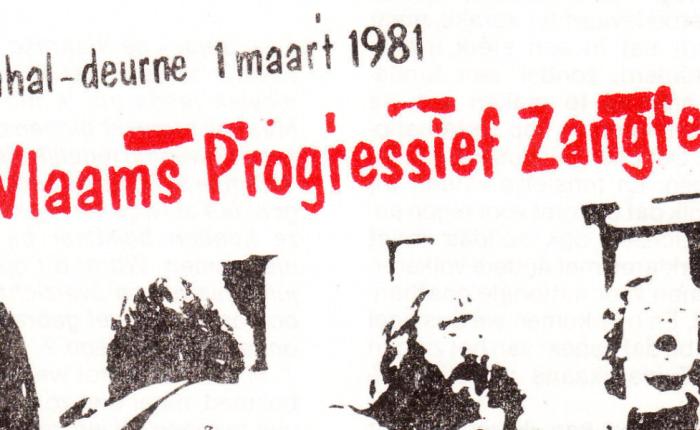 Veertig jaar geleden: eerste (en meteen ook laatste) Vlaams ProgressiefZangfeest