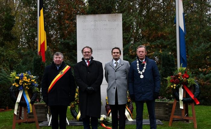 'Einde 100 jaar Belgenkamp' in Harderwijk(Nederland)