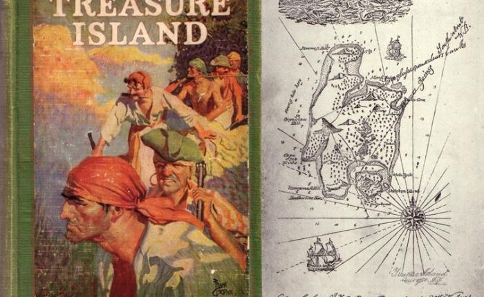"""135 jaar geleden: """"Treasure Island"""" door Robert LouisStevenson"""