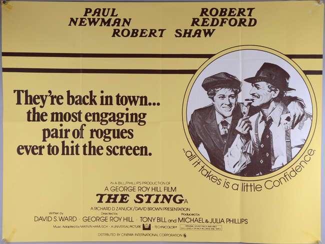 """45 jaar geleden: première van """"TheSting"""""""