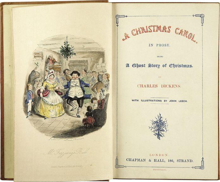 """175 jaar geleden: """"A Christmas Carol"""" van CharlesDickens"""